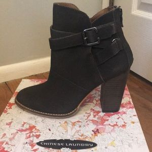 Chinese laundry booties NWT
